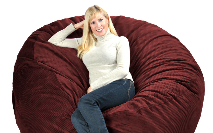 Huge Bean Bags Filled With Love And Foam