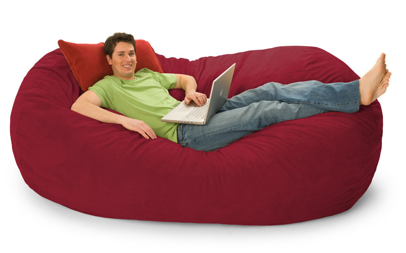 251418106 additionally  furthermore Giant Bird Nest Bed Couch Furniture Oge Creative together with Jumbo Rectangle Memory Foam Dog Bed moreover Red Bean Bag. on extra large bean bags